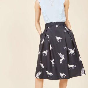 Modcloth Sugarhill Boutique Make Believe Skirt